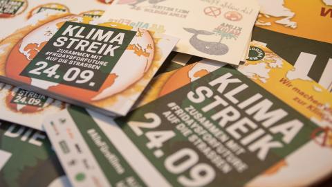 Klimastreik-Materialpaket jetzt bestellen © Sonja Ritter / WWF Deutschland